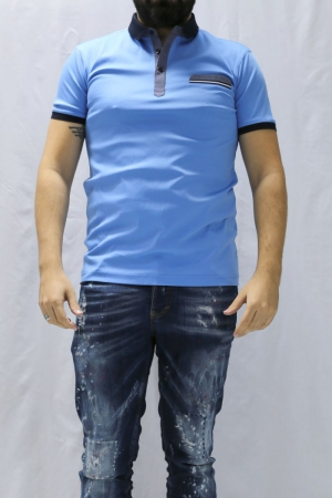 Футболка муж. арт.19704 POLO T-SHIRT BLUE