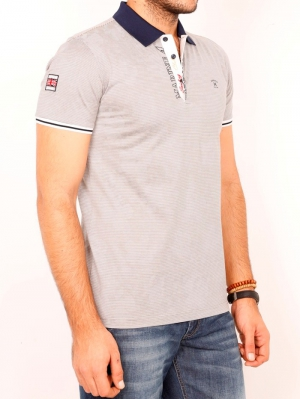 Футболка муж. арт.19625 POLO T-SHIRT GREY