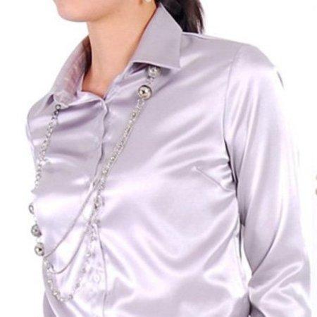 6f34a86315a Шелковые женские рубашки - Джинсовая одежда